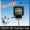 cree working light , 9-32vDC,RGD1054 24w led work light,off road ,trailer,4wd ,tractor led work light