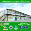 classical prefab house for modular steel house