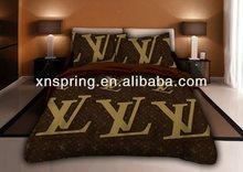 dark grey big brand 3d bedding set