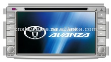 dvd player with gps for toyota avanza