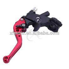 """For Yamaha YZF R1 1999-2012 Red 7/8"""" Brake Clutch Master Reservoir Lever"""
