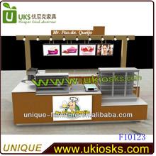 Caliente venta y de bajo precio quiosco de comida / kiosco de comida rápida / exterior de comida rápida kiosco