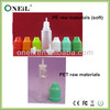 childproof and tamperproof cap soft e-cig bottles 10ml