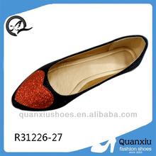 2014 fashion women rubber flat shoes abaya shop