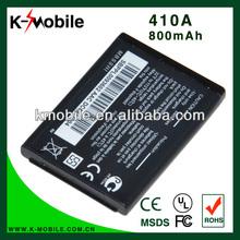 New mobile phone Battery 410A for LG KG200 KG275 KG276 Shine KG77 KP320 LX160 KP105 KP130 KP235 KU250 278A