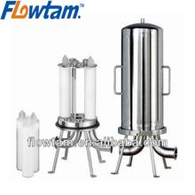 multi round cartridge filter housing
