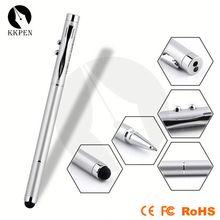 uv light secret message pen light flat pen capacitive stylus pen for touch screens