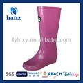 2014 madura sexy rosa de salto alto mulheres wellington botas