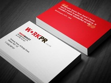 custom embossed cheap and free business cards printing service