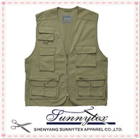 Multipockets summer fishing vest 5xl