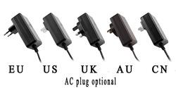 multi plug 12v 1.5A AC DC led power supply