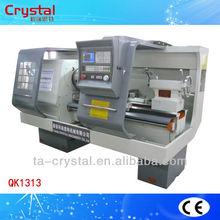 China small cnc pipe thread lathe machine operation QK1313