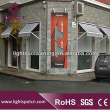 Steel/Aluminum Awning Window/Gazebo Canvas/Aluminum Sun Shelter