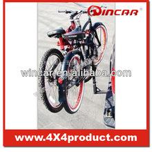 Portable Bike Rack Tow Bar Install Way By Wincar