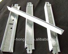 plane t-grid/t-bar ceiling suspension system