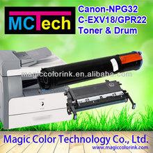 Compatible Canon Copier NPG32 toner cartridge for Canon IR1018