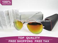 New 2014 Fashion Vintage Coating Sunglasses Brand Designer Rayban Aviator 3025 Sun Glasses 3026