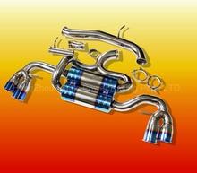 "SS DUAL AXEL CAT BACK EXHAUST SYSTEM 4"" BURN TIP MUFFLER 09-13 AUDI TT/TTS TFSI (Fits: Audi 2009)"