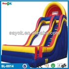 newest commercial hippo inflatable water slide made in china