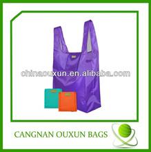 hottest good quality foldable thin nylon bag