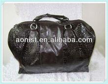 fashion leather duffle bag,wholesale duffle bag for promotion