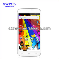 6inch no brand smart phone MTK6572W dual core512mb ram android cell phone
