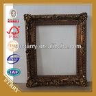 golden leaf wooden picture frames