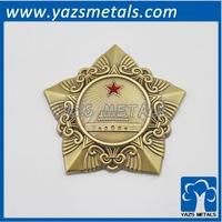 factory five star brass plate
