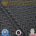 vestuário denim tingido de produção da camisa do jacquard tecidos de malhas