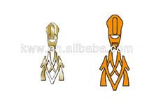 custom made designer zipper metal pulls
