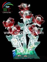 red crystal rose