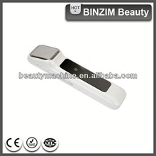 2014 beauty salon equipment keep skin moisture fast 3-in-1 home use facial massage device