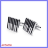Wholesale china fashion piano keyboard stainless steel cuff links