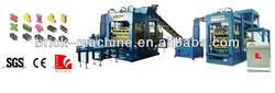 Full automatic block machine production line/block making machine QT6-15