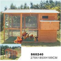 2015 Hot sales high quality wooden chicken coop/chicken house