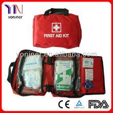Medical first aid kit car