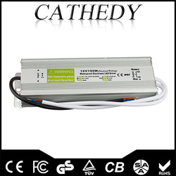 Hot selling 12v150w constant current power supply ce certificate 12v150w transformer 12v150w waterproof power supply