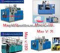 Frascos de óleo lubrificante de extrusão de plástico máquinas/máquina moldando do sopro de plástico para produtos