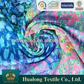 El último diseño de impresión neto& tela de encaje para la impresión de flores para las niñas& prendas de vestir