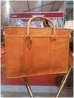 "vintage Leather women Business Bags & Cases Laptop Bag 17"" Briefcase"