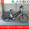 "Fast lithium battery electric bike with 24"" wheel(JSE46S-1)"