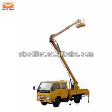14m articulating lifting platform truck/easy lift