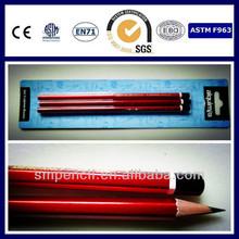 promotion HB wooden pencil pass CE,EN71,ASTM-D4236 and F963