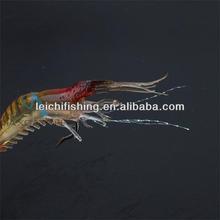 wholesale super quality luminous shrimp soft plastic lure