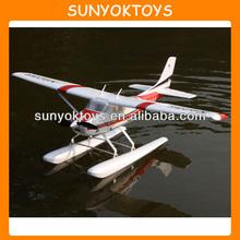 Hot! 93CM 6CH RC Plane EPO Cessna 182up Seaplane Electric/Good Trainer RTF, RC Seaplane