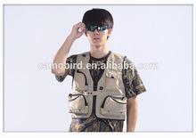 XXXXXL Super Big Size Outdoor Hunting Fishing Vest for fat Big Man Photography Waistcoat Vest