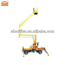 articulating compact boom lift/aerial access platforms