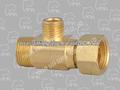 223 - 03 latão para sacos ( encaixe de bronze EZ conectar adaptador ) ( sem chumbo )