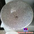 casa de banho de porcelana pia de granito vermelho cor