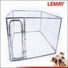 7.5 x 7.5 x 6 ft galvanized fancy dog kennels